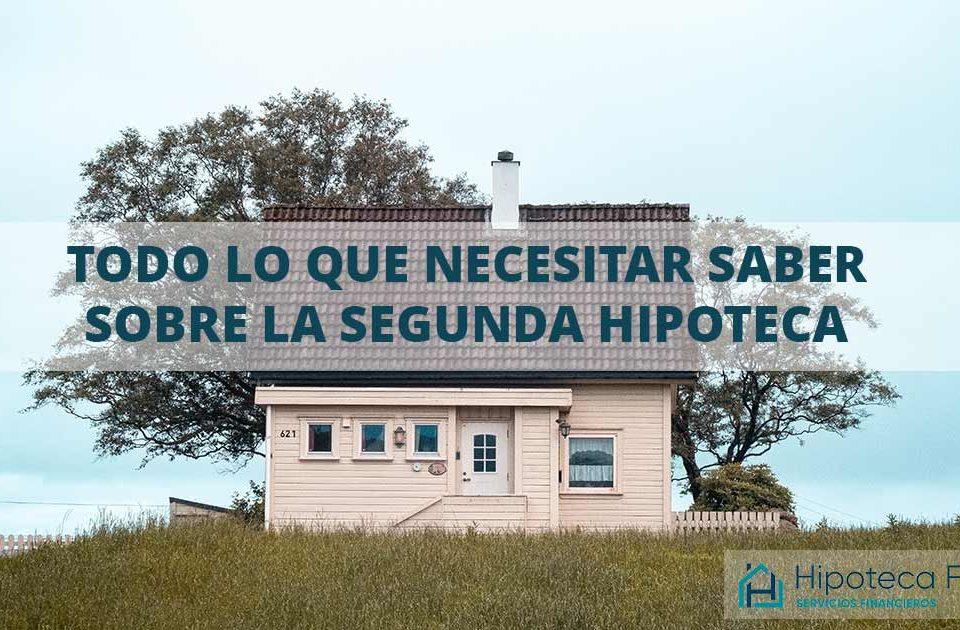 segunda hipoteca sobre vivienda habitual